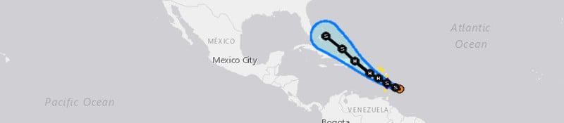 Dorian Threatens Puerto Rico–Hispaniola–Possible Impacts for U.S.