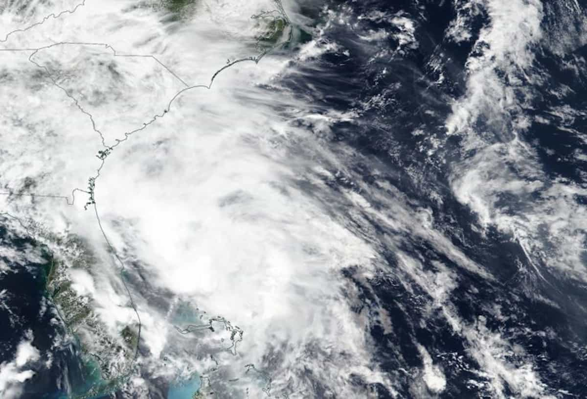 Tropical Storm Bertha Hits South Carolina