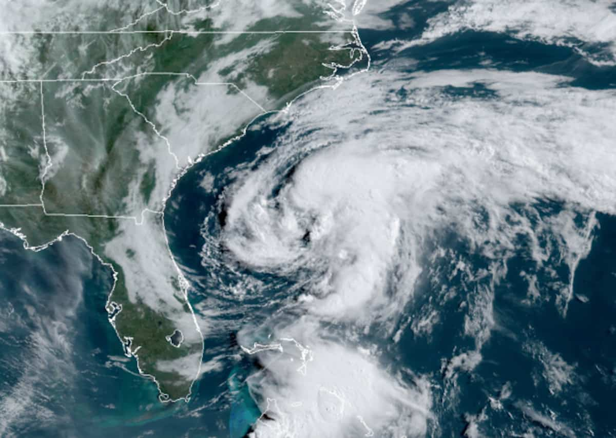 Tropical Storm Arthur—First Named Storm of the 2020 Hurricane Season