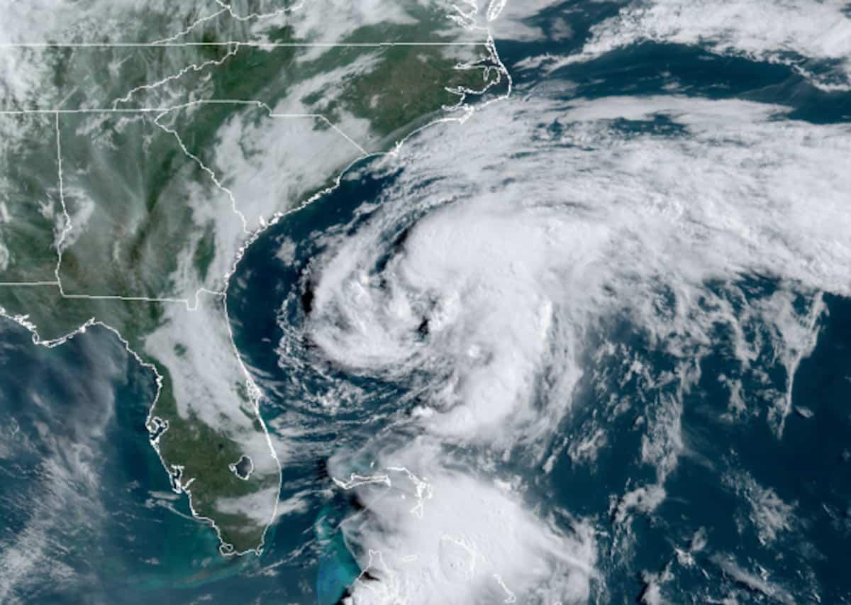 Tropical Storm Arthur—First Named Storm of the 2020 Hurricane Season