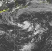 Tropical Storm Dolly June 23, 2020 GOES Satellite Image via NOAA