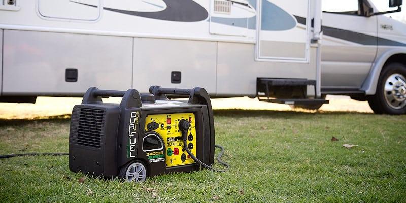 Champion Dual-Fuel Portable RV Generator