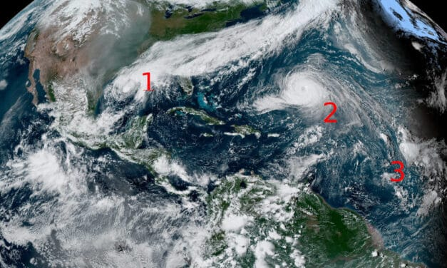 Tropical Cyclones Wilfred, Alpha & Beta