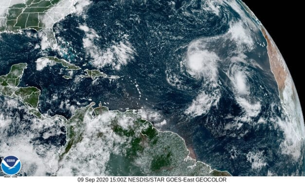 Tropical Storms Paulette and Rene Form Over Labor Day Weekend
