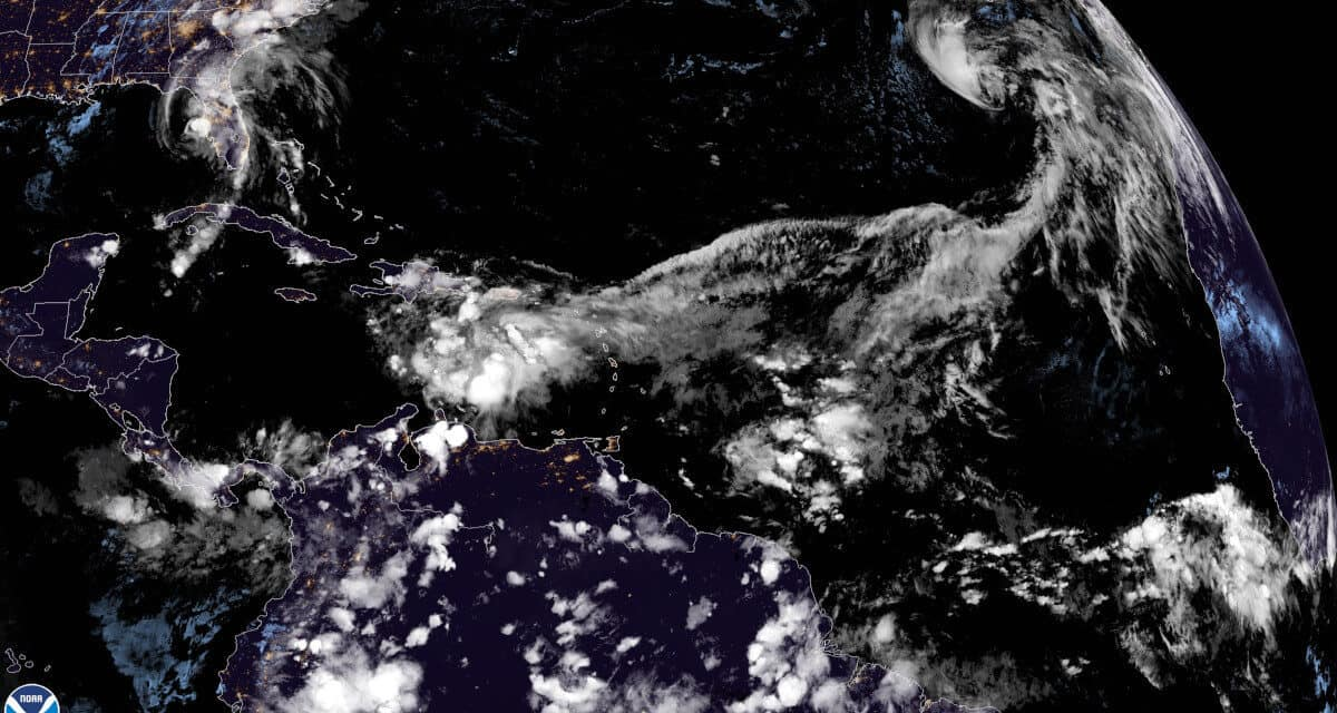 Tropical Storm Theta Breaks Record for Most Named Storms in One Season