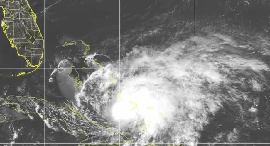 July 31. Hurricane Isaias Turns North for the East Coast