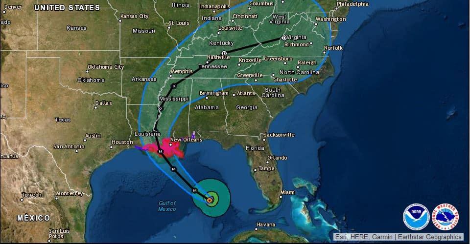 Hurricane Ida Takes Aim on Louisiana – Gulf Coast