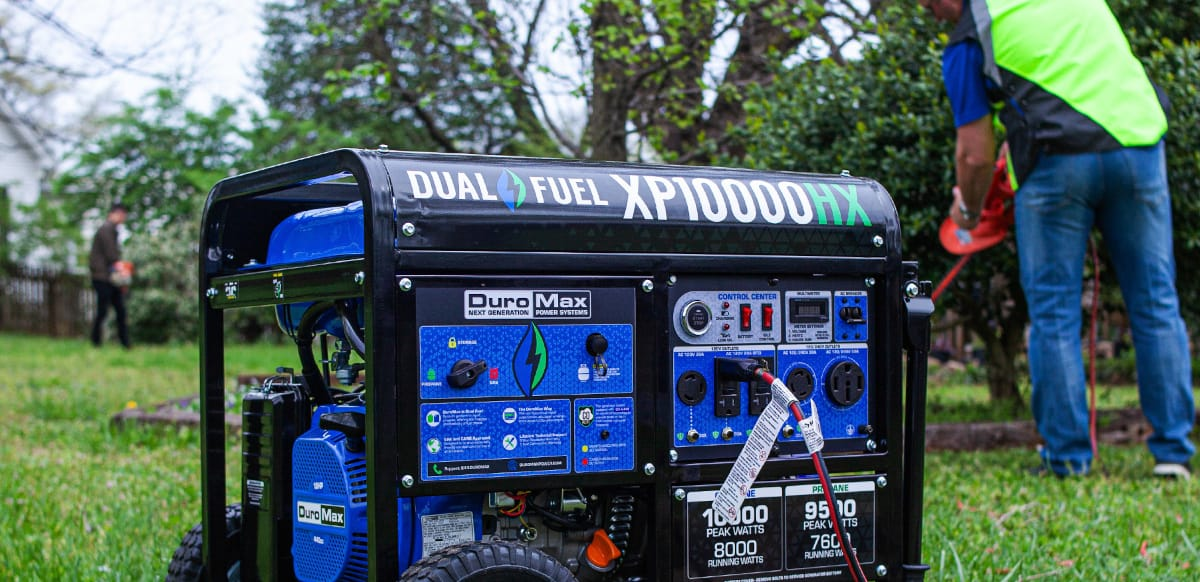 DuroMax Portable Generator for Home Use