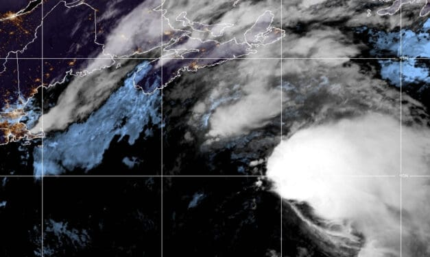 Tropical Storm Odette the 15th Named Storm of 2021